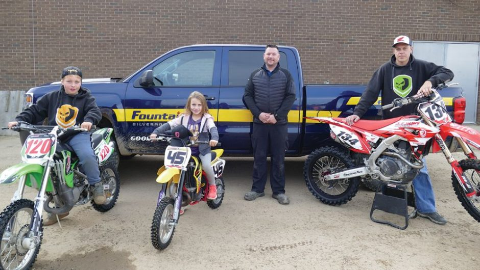 Motocross fun for the whole family