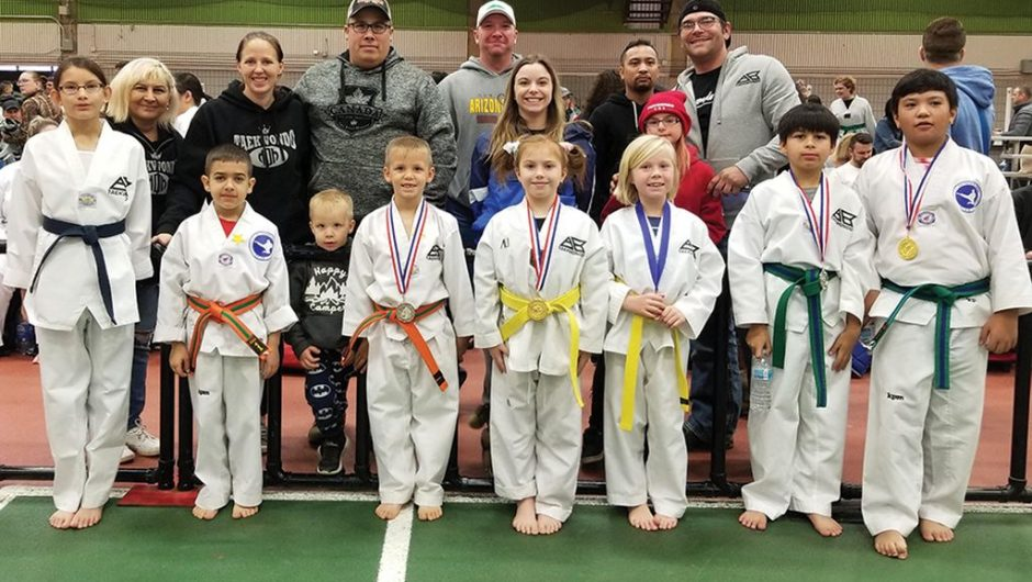 All AB Taekwondo students placed at Edmonton championship