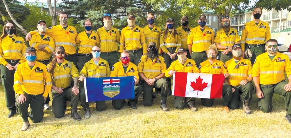 Alberta answers the call for help, sends firefighters to U.S.