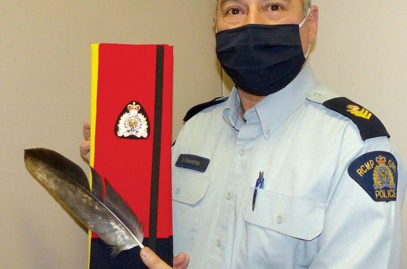 RCMP detachment receives eagle feather