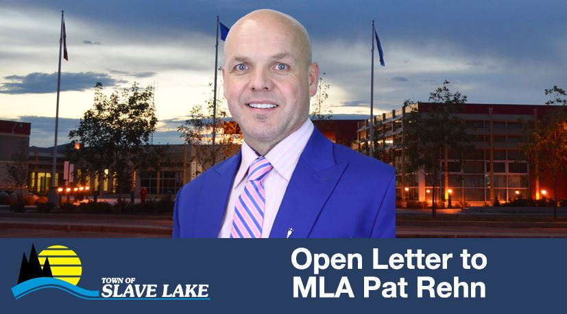 Town of Slave Lake asks for Rehn's resignation