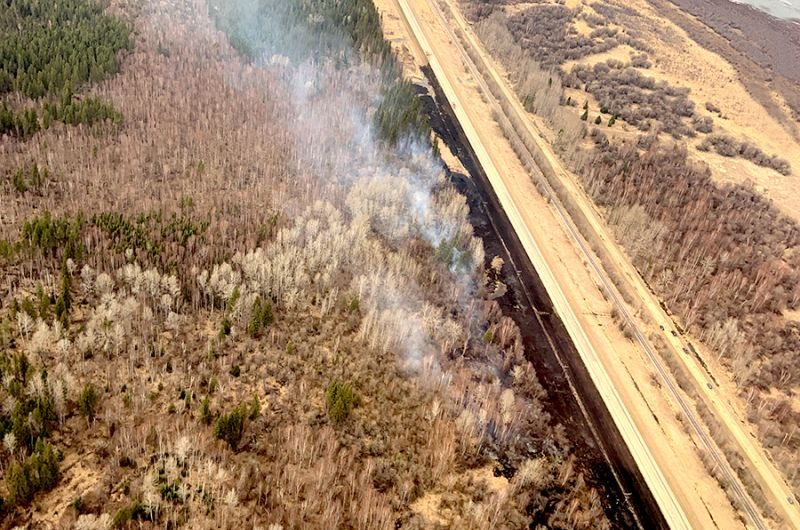 Updated: May 6 – Fires break out near Slave Lake, Flatbush