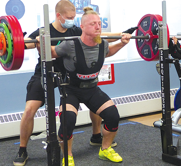 Powerlifting at Champions Fitness